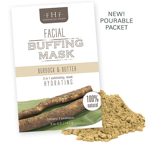 Burdock & Butter Facial Buffing Biscuits