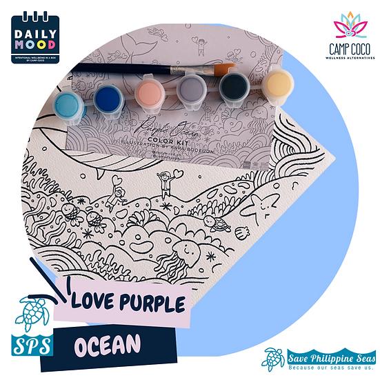 Purple Ocean Color Kit