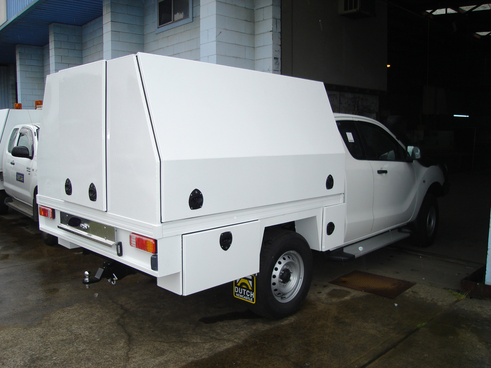 Service Bodies | Dutch Engineering | Newcastle | Ute body | Canopy