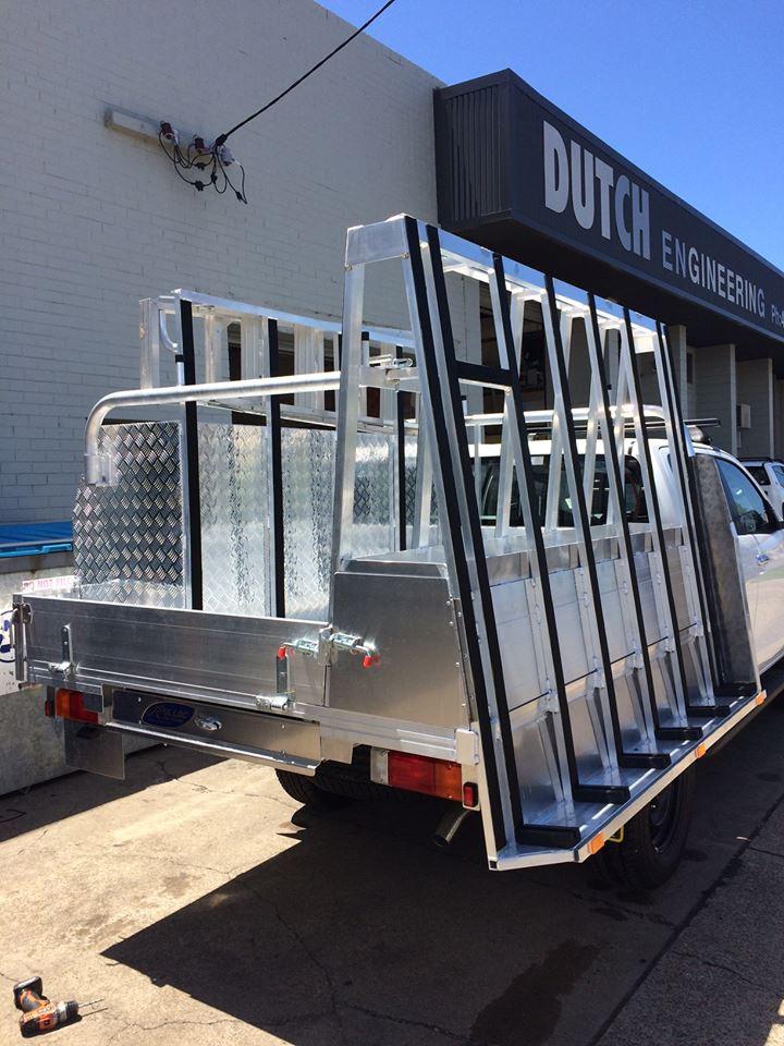 Custom Built glass carrier