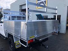 Toyota Hilux 1 tonne aluminium tray