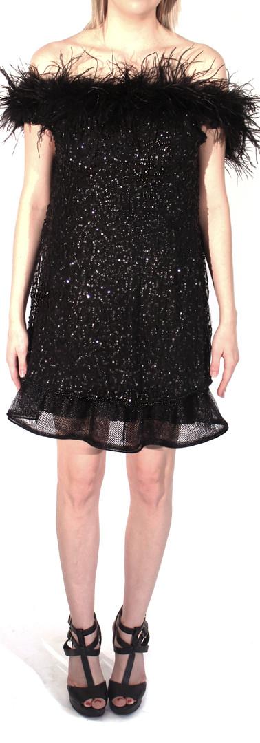 Kate Beaded Chiffon Overlay Dress