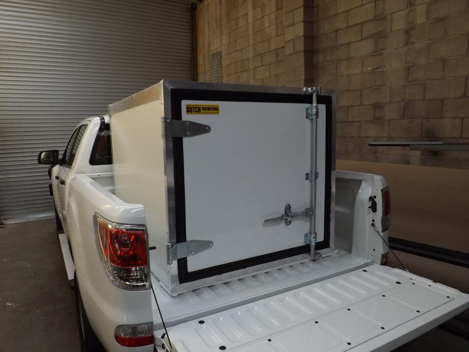 Custom built Insulated Freezer Box