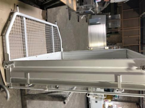 Custom Built Steel Tray