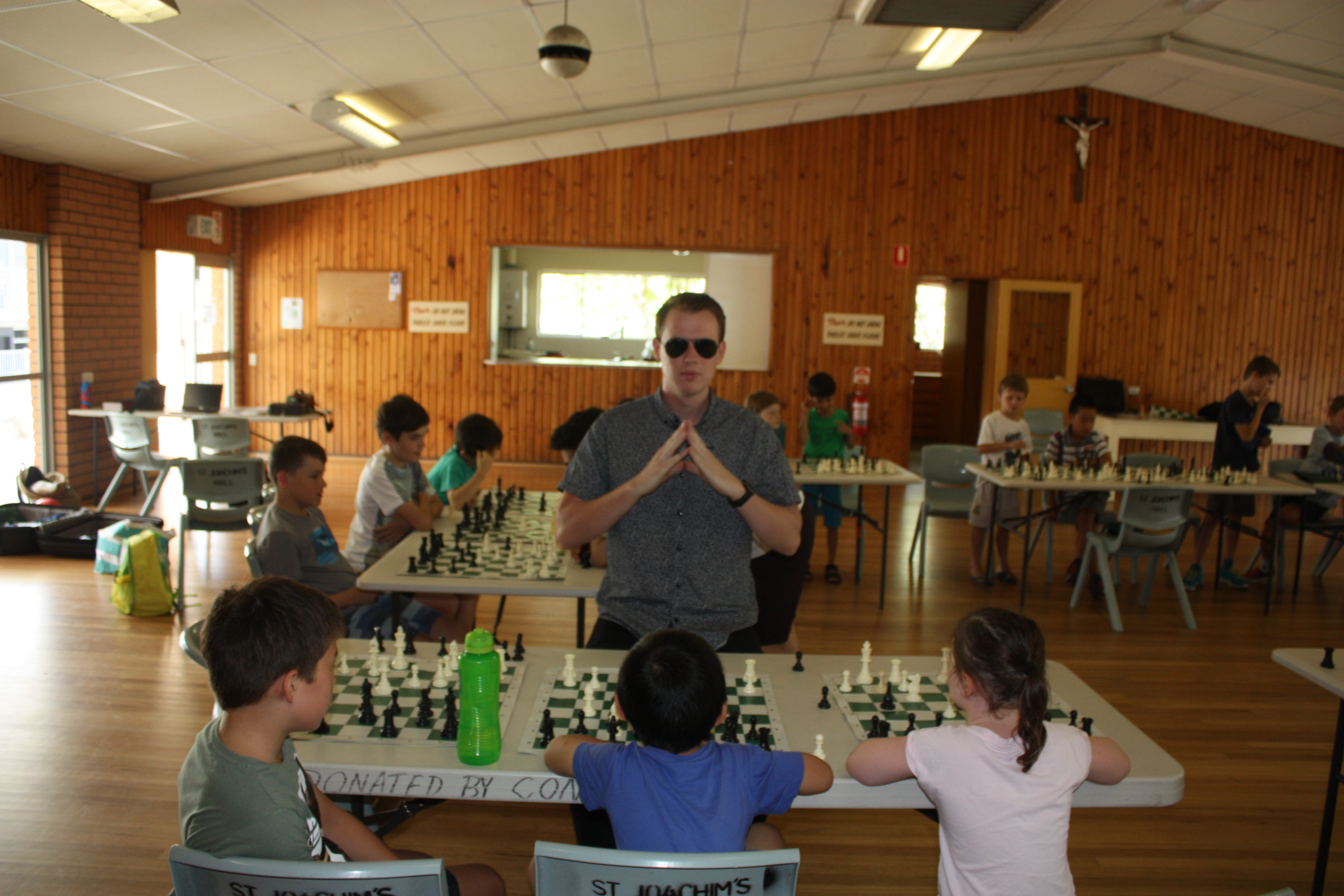 Matrix or Chess?