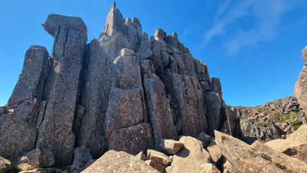 Random Rocks Cradle Mountain