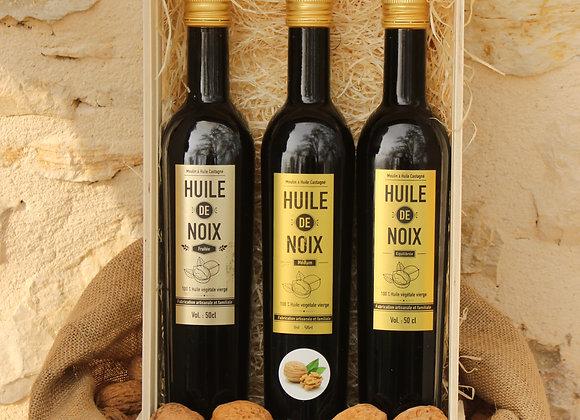 Les 3 grandes huiles de noix