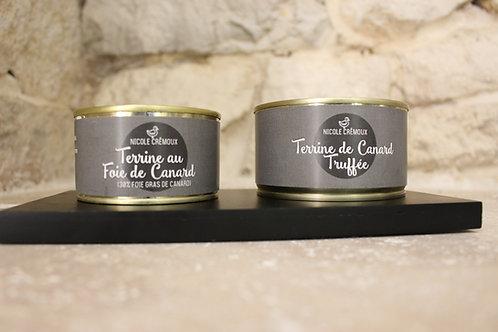 Terrine au foie gras truffé