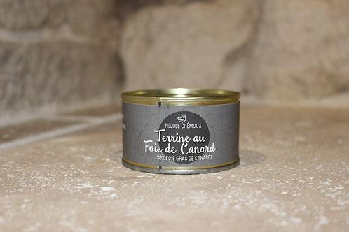 Terrine au foie gras 130g