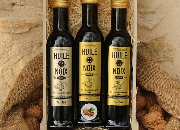 Les 3 petites huiles de noix