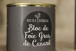 Bloc de foie gras de canard 320g