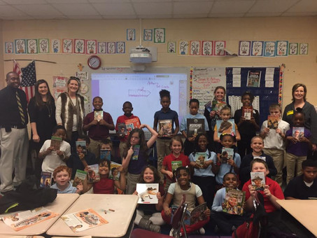Rotary Club Makes Book Donation as Part of the Literacy Project