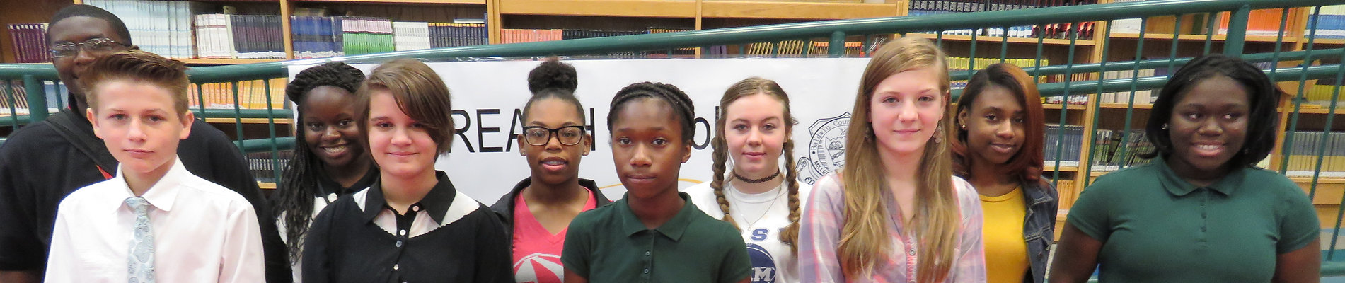 Both cohorts of REACH scholars.