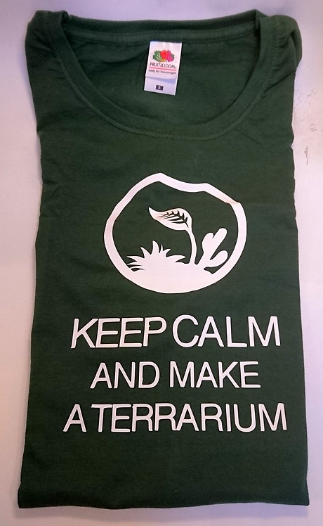 Keep Calm and Make a Terrarium - T-Shirt