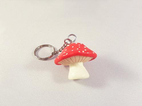 Unique Mushroom Keychain