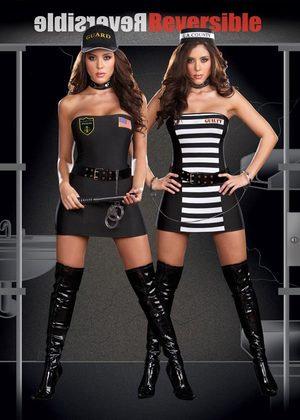 Reversible costume - Guard & Prisoner