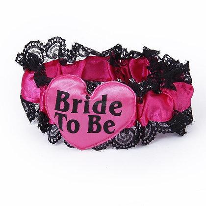 Bride To Be leg garter