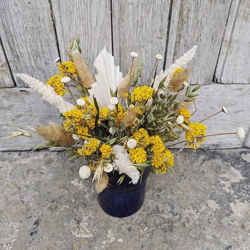 Les Fleurs : Bouquet jaune citronné