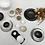 Thumbnail: Vaisselle minérale : Bol platine