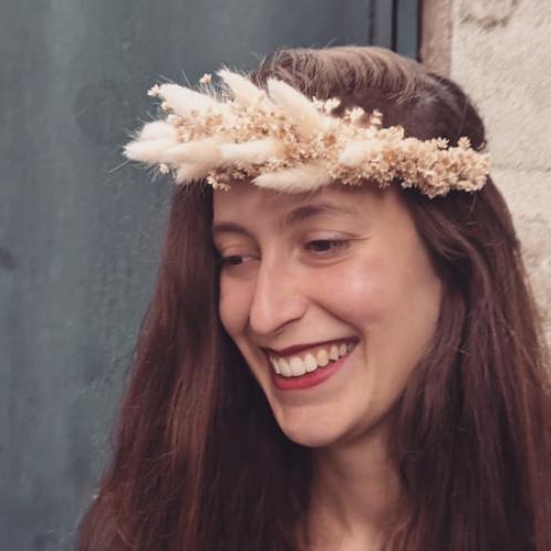 Les Fleurs : Couronne fin de l'été