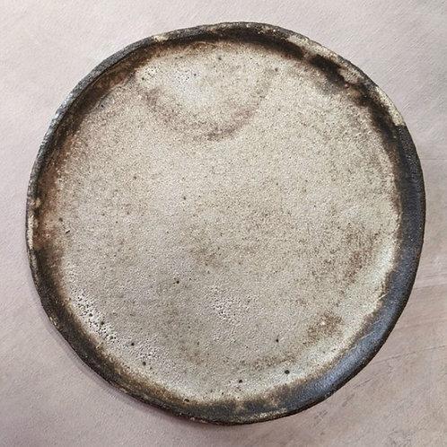 Vaisselle minérale : Assiette lave PM