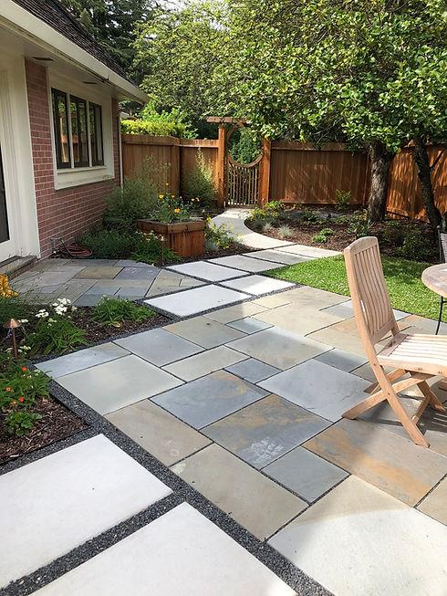 jGrow bluestone patio
