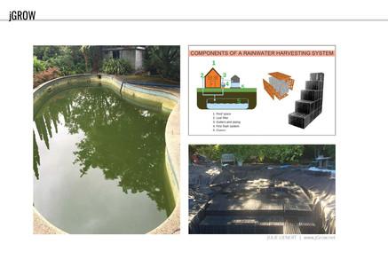 Rainwater harvesting items