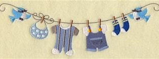 Boy Clothesline