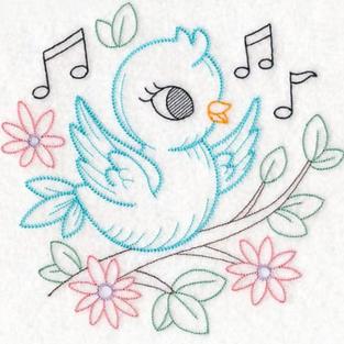 Playful Bird