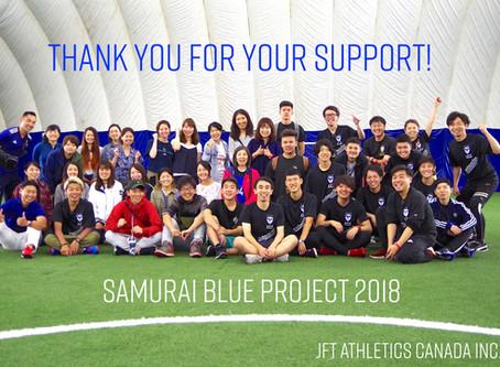 Samurai Blue Project 2018