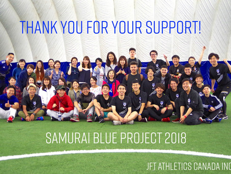 Samurai Blue Project 2018