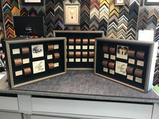 3 shadow boxes for Fantesca Winery