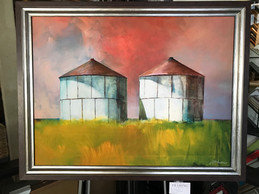 Canvas with Silo images
