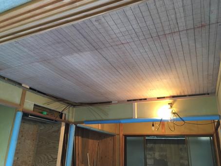 網代天井編み