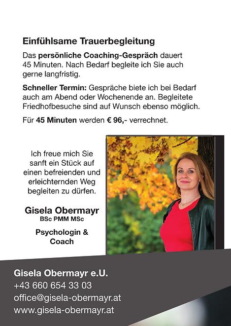 Flyer_Trauerbegleitung Gisela Obermayr-p