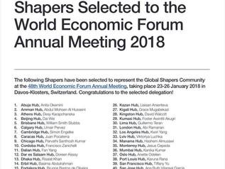 【お知らせ】代表樋口が「World Economic Forum Annual Meeting 2018」参加者として選ばれました