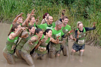 We Few, We Happy (and muddy) Few
