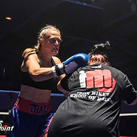 Tracey Willoughby Boxing