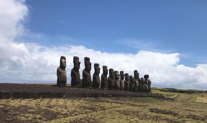 LGB Emerges on Easter Island!