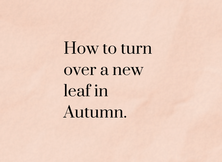 7 Gentle-But-Fulfilling Ways To Rejuvenate Your Life This Fall