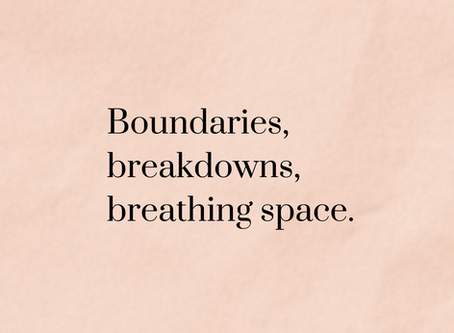 Communication challenges during lockdown: boundaries, break downs, and breathing space