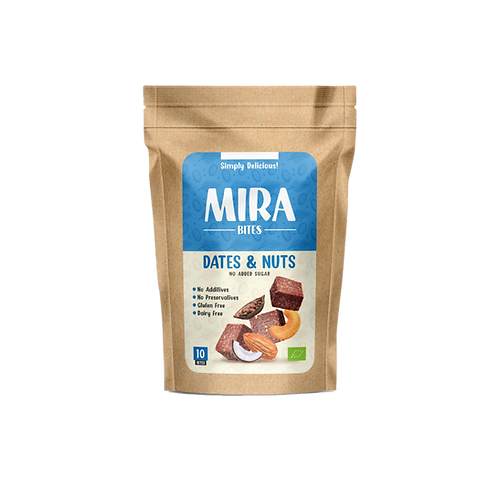 Organic Dates & Nuts - Mirabites blue