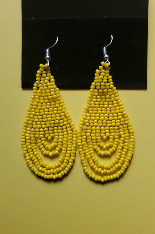 Solid color Uweave earing