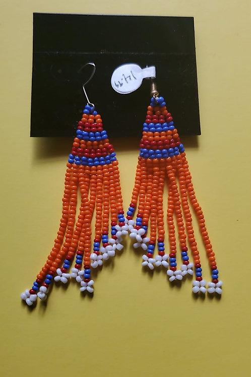 Med length weave mvua earings