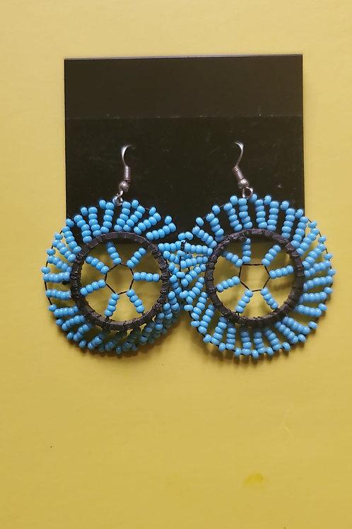 Simple wheel earrings