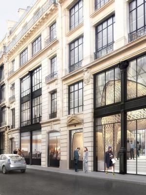Rénovation des ancien bureaux du Moniteur à Paris