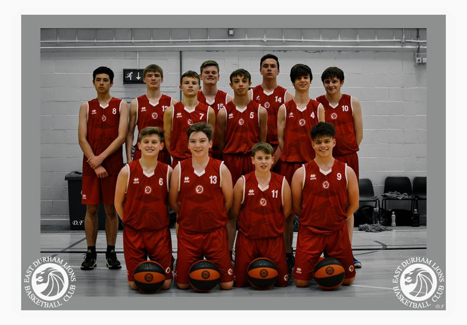 U16s National League Squad 18 19