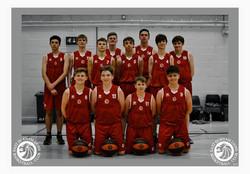 U16s National League Squad 18 19
