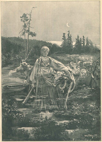 /// Material used in the research: Illustration av Wilh. Peters från boken Julrosor. Skandinaviskt julblad (1887). From: https://www.isof.se/om-oss/for-dig-i-skolan/arkivvaskan/de-underjordiska-i-folktron.html