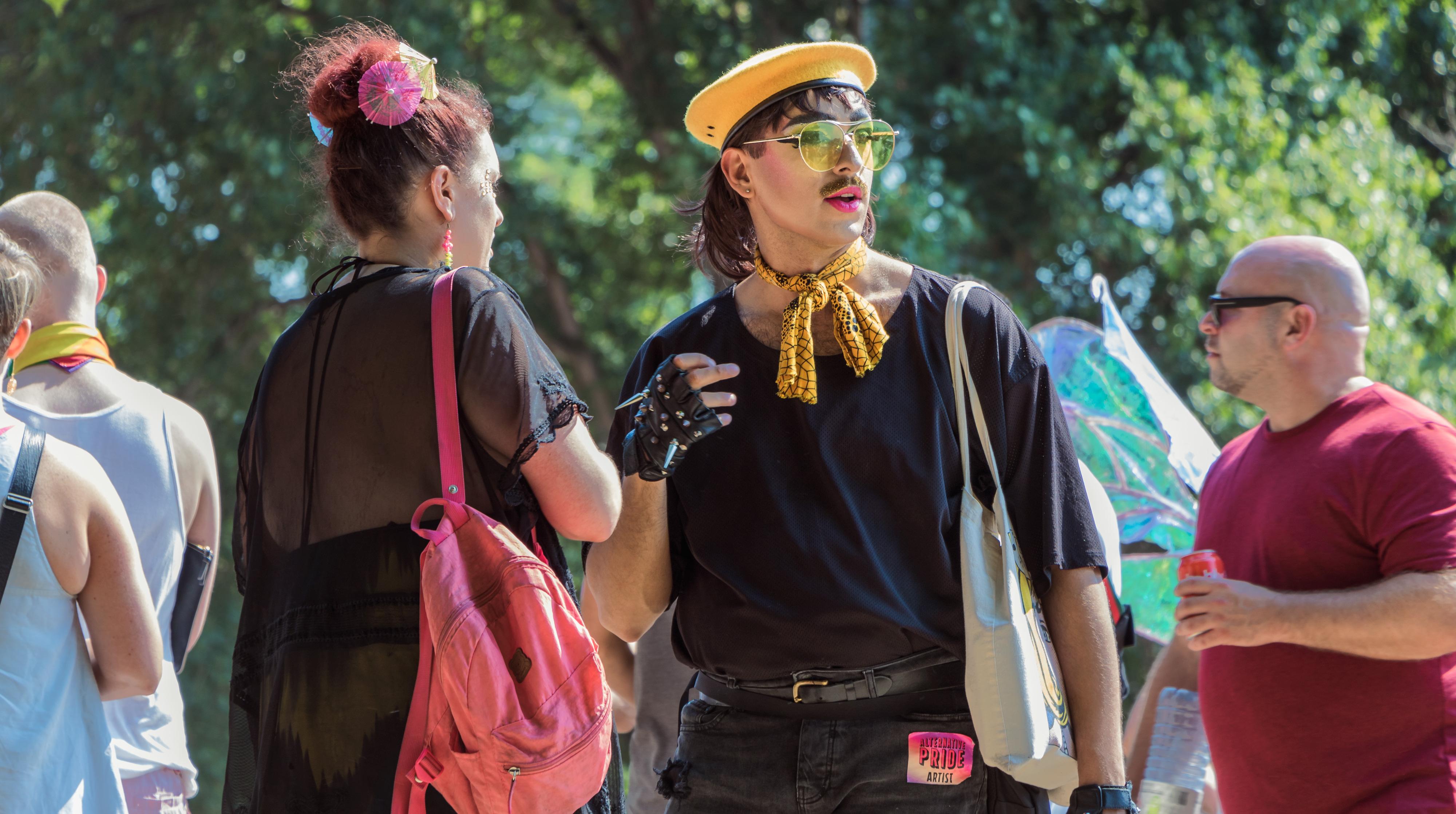 Vancouver Pride Parade Fashionista